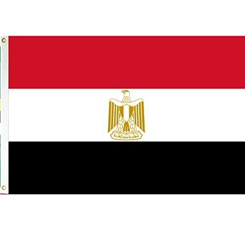 Egypt 3x5 Polyester Flag by Vista Flags