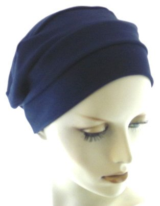 Hats with Heart Cotton 3-seam Turban- Chemo Headcover Hat for Cancer and Hair Loss