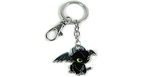 Car Costumes For Your Car (How To Train Your Dragon Toothless Metal Keychain With Clip)