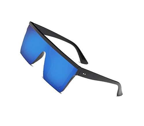 hombres para del protectoras de Guay sol de aire mujeres Huyizhi forman conducir Azul al de cuadradas gafas los deportes libre para viajar sol estilo Las UV400 Gafas qSAnPfwX