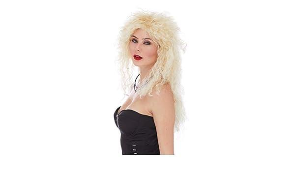 Amazon.com: Heavy Metal Color 22 Blonde - Sepia Wigs 20 ...