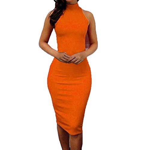 Holiday Dress for Womens,Yamally 2019 New Summer Sling Sleeveless Retro Print Halter Beach Short Dress Mini Dresses