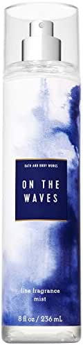 Bath and Body Works ON THE WAVES Fine Fragrance Mist 8 Fluid Ounce (2019 Limited Edition)