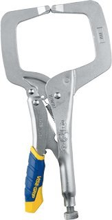 (6 Inch Fast Release Locking C-Clamps With Regular Tip-2pack)