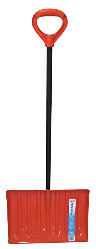 Emsco Group 1199 Bigfoot Poly Snow Shovel With 17-7/8-Inch x 13-Inch Blade