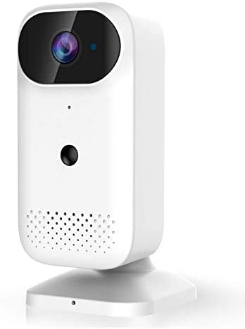 Wireless Security Camera, Rechargeable Battery Powered Camera, Night Vision, 2-Way Audio, 1080P Video WiFi Smart Camera with Motion Detection, Indoor/Outdoor, Waterproof, Cloud Storage/SD Slot