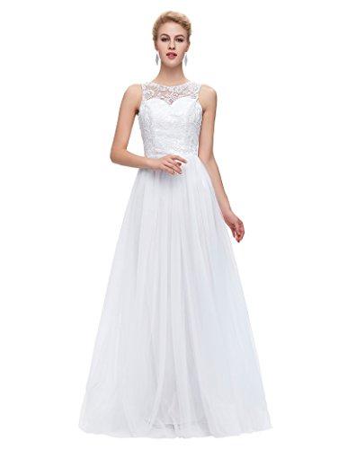 Grace Elegant Bodice Sleeveless Bridesmaid