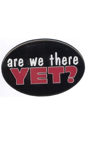Knockout 502H are We There Yet Hitch Cover