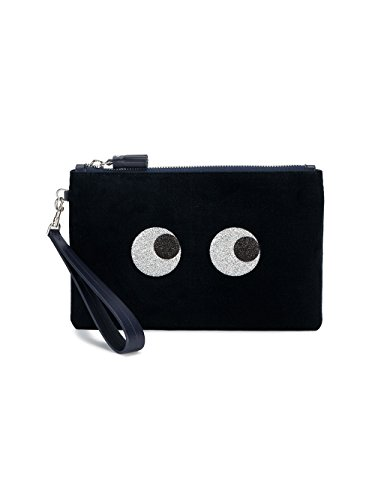 Anya Hindmarch , Damen Clutch Blau blau