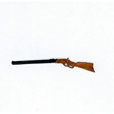 Dollhouse Miniature Winchester Rifle: Toys & Games