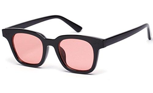 Bestum Inspired Square Sunglasses Rivets