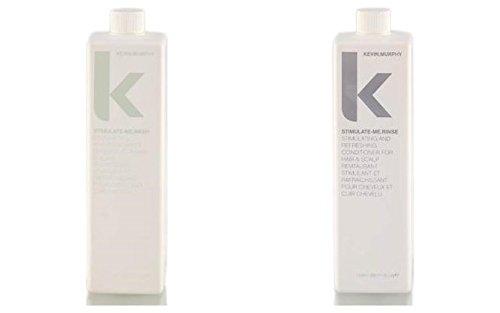 Kevin Murphy Stimulate Me Wash and Rinse combo set 1000 ml/33.8 Fl Oz Liq. each