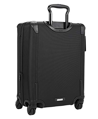 TUMI - Alpha 2 Continental Expandable 4 Wheeled Carry-On Luggage - 22 Inch Rolling Suitcase for Men and Women - Black