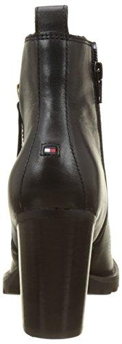 black Femme Hilfiger Bottes Noir 20a Tommy I1285sabella qYwpFx6