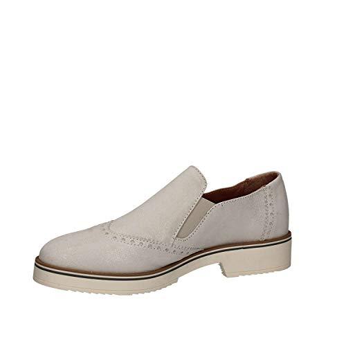 Casual Mujeres 5733 Zapatos Blanco Mally qaz4nF