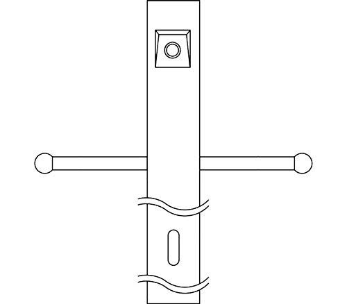 Kichler 49904BK Accessory Post w/Ext Photocell & Ladder, Black by KICHLER