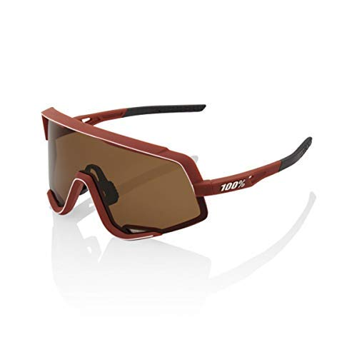 Image of 100% Glendale Sunglasses (Soft TACT Bordeaux/Bronze Lens)