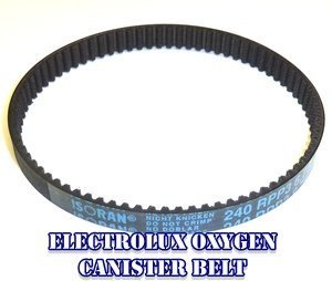 (Electrolux Oxygen Power Nozzle Roller Brush/ Beater Bar Geared Belt.)