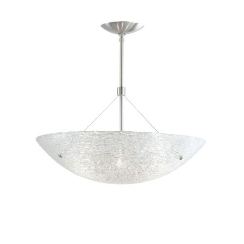 Tech Lighting 700TRAS2316C-CF Trace 4 Light Energy Star Bowl Shaped Pendant - 16, Clear with Antique Bronze - Star Energy Light Pendant Bowl
