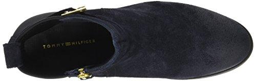 Tommy Hilfiger Damen T1285essa Hg 2c Chelsea Boots Blau (mezzanotte)