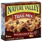 Nature Valley Chewy Dark Chocolate & Nut Trail Mix Bars 6 Pack 7.4 oz (Pack of 12)