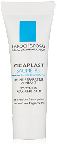 La Roche- Posay Cicaplast Baume B5 Soothing Multi-Purpose Balm Cream for Dry Skin Sample Size, 0.10 Fl. Oz.