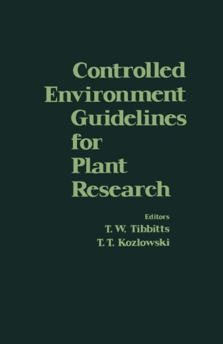 Controlled Environment Guidelines for Plant Research ebook