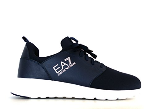 Emporio Armani Sneaker Scarpe Training Simple Racer 24800 7A299 06935 Nylon Navy
