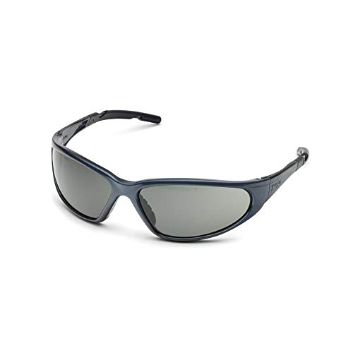 Elvex XTS Safety Glasses-Grey Frame-Grey Anti-Fog Lens (Bundle of 5) - SG-24G-AF