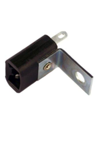 (Wedge Bulb Socket W2.1x9.5d base (168, 194, 555, 906, 912 etc.) L-Bracket)