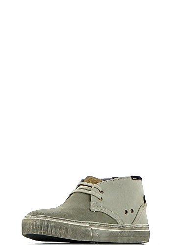 Wrangler - Zapatillas de tela para hombre gris