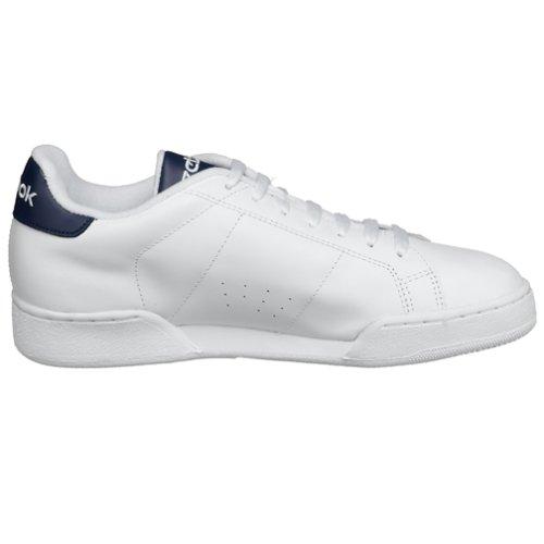 Reebok Npc Rad - Zapatillas de tenis para hombre, color blanco/azul, talla 46: Amazon.es: Zapatos y complementos