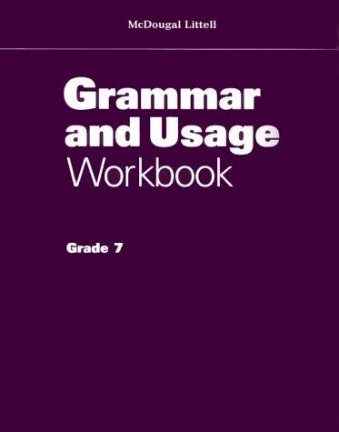 Grammar Usage Workbook: Grade 7