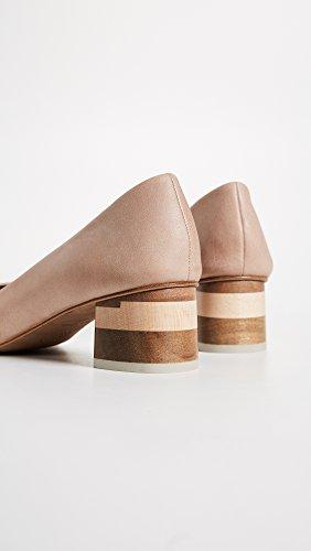 Coclico Shoes Mujeres Epic Block Heel Pumps Desnudo
