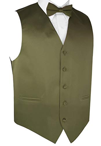 Olive Best Tuxedo Homme Gilet Vert rFq7wxIFpH
