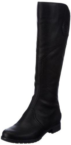 Rockport Tristina Gore Tall Boot Breit Leder Mode-Knie hoch Stiefel, Schwarz (Black), 41