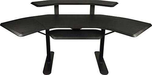 "Ultimate Support Nucleus 2 - Studio Desk - Base model, 12"" extensions, 2nd Tier, Keyboard Tray"