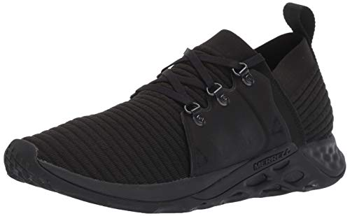 Merrell Men's Range AC+ Sneaker, Triple Black, 10.0 M US