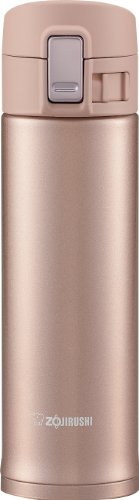 Zojirushi SM-KB48PX Stainless Steel Travel Mug, 16-Ounce/0.48-Liter, Pink Champagne