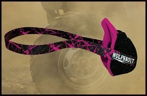 Wolfsnout All Sport Dust Mask Pink
