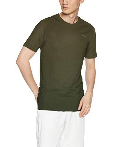 Homme Evostripe shirt Evoknit Puma Marron T Seamless T Tee R7qdwq0