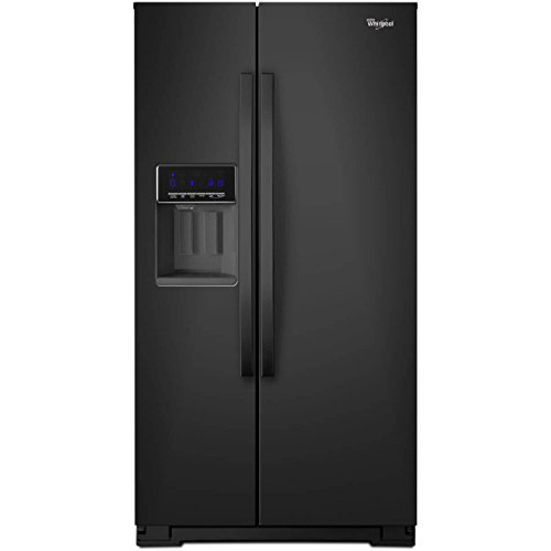 Whirlpool WRS571CIDB WRS571CIDB 20.6 Cu. Ft. Black Counter-Depth Side-by-Side Refrigerator ()