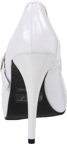 Ellie Bomba de la mujer Zapatos ladyjane Blanco 469 ATOxwrqPAt