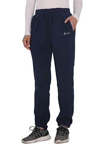 Clothin Women's Fleece Thermal Elastic Leg Opening Sweatpants(Elastic-Cuff Women ()