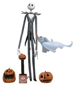Neca Jack - NECA Tim Burton's The Nightmare Before Christmas Series 1 Jack Skellington Action Figure