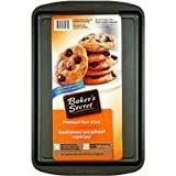 Baker's Secret Basics Nonstick Small Cookie Pan, 13 Inch by 9 Inch