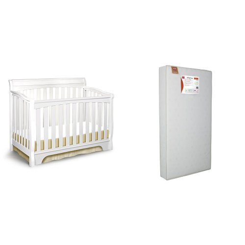 Delta Children Eclipse 4-in-1 Crib and Simmons Kids Beaut...