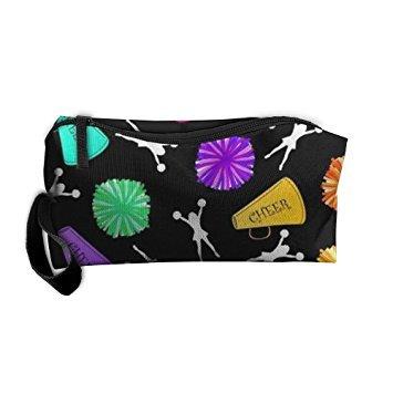 TropicalFAS Cosmetic Bag Bullhorns Makeup Bag Zipper Wallet