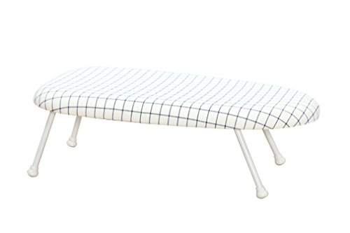 StorageManiac Tabletop Ironing Board with Folding Legs, Folding Ironing Board with Cotton Cover (Black Iron Board Cover compare prices)