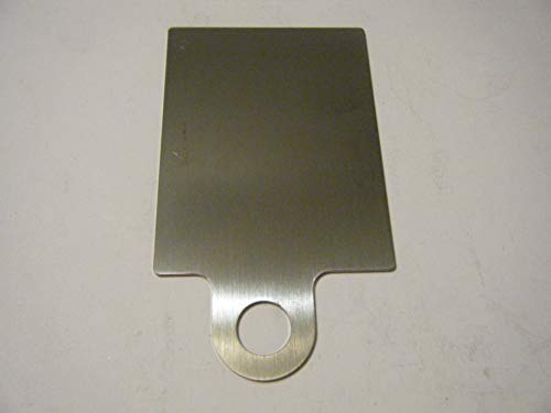Davis Sticker Plate 2 3/16''x 3 1/6'' Offset tab by Davis